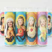 Golden Girls Set of 4 Celebrity Prayer Candles
