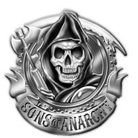 Sons of Anarchy Chrome Reaper Belt Buckle - Sons of Anarchy - | TV Store Online