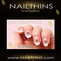 20 Inspired by Chanel Nail art nail decal Water Slide Nail design