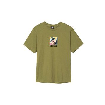 Stussy Escape Tee - Olive