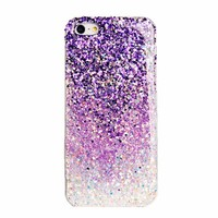 Dreamlike Ombre Purple Sparkling Handmade Case For iPhone 4/4S