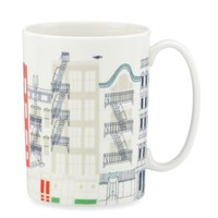 kate spade new york Hopscotch Drive About Town City Mug