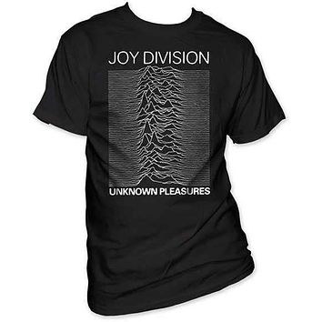 JOY DIVISION UNKNOWN PLEASURES MENS TEE