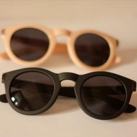Round Cat Eye Sunglasses GJH833