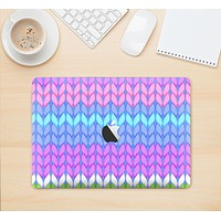 "The Bright-Colored Knit Pattern Skin Kit for the 12"" Apple MacBook"