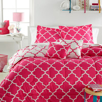 Langley Pink 5-Pc. Comforter Sets