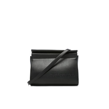 CALVIN KLEIN 205W39NYC Top Zip Crossbody in Black | FWRD