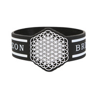 Bring Me The Horizon Sempiternal Rubber Bracelet | Hot Topic