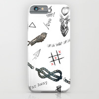 Louis's Tattoos iPhone & iPod Case by Kate & Co.