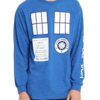 Doctor Who I Am TARDIS Long-Sleeved T-Shirt