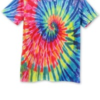 Dizzying Rainbow Short Sleeve Tee - OASAP.com