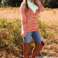 Little Taste Of Heaven Sweater: Multi