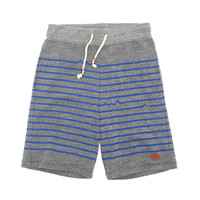 James Striped Tri-Blend Shorts