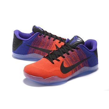 Nike Kobe Xi Elite Red/purple Basketball Trainers Size Us7-12 - Beauty Ticks