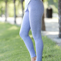 SA Exclusive Heathered Lavender Leggings