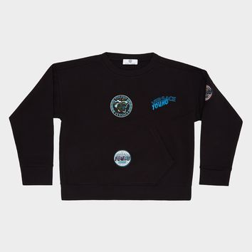 Young Versace Young Versace Patch Sweatshirt for Boys | UK Online Store