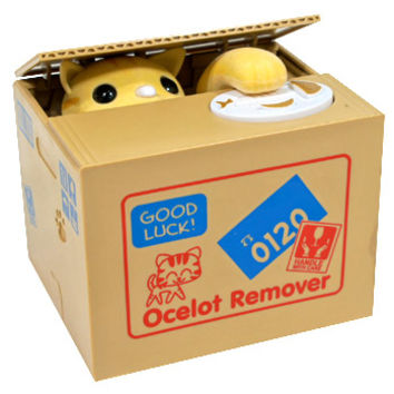 Motorized Cat Piggy Bank - Ocelot Remover | AsianFoodGrocer.com, Shirataki Noodles, Miso Soup