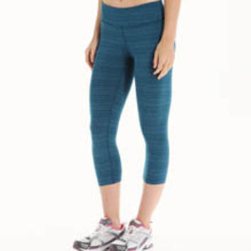 Beyond Yoga SS3079 Striped Supplex Capri Legging