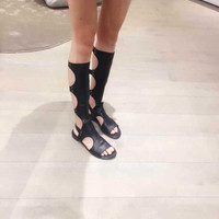 New Summer Lace Up Sandals = 4777191108