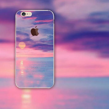 Beautiful Sunset iPhone 5S 6 6S Plus Case + Gift Box-126