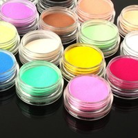 Women Shimmer Effect Acrylic Powder Dust For Nails