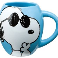 Vandor Peanuts Joe Cool Mug 18-oz