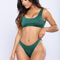 Calling all Angels Bikini Set - Emerald
