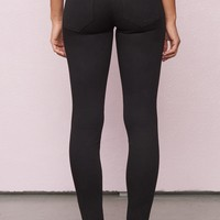 Black High Waist Super Soft Jegging