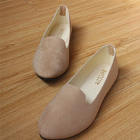 Casual Ballerina Loafers - Color Options Available