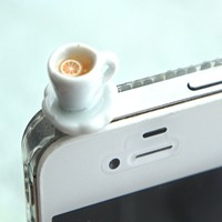 Lemon Tea Cup Phone Plug