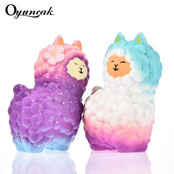 Oyuncak Squishy Sheep Alpaca Squish Toys Entertainment Antistress Girls Fun Gadget Gags Practical Jokes Squisy Novelty Gag Toys