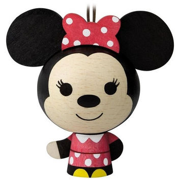 Minnie Mouse Wood Ornament