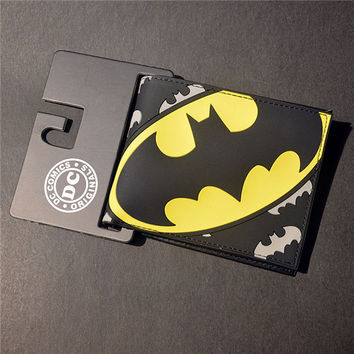 DC Comics Batman Bat Signal Logo Wallet