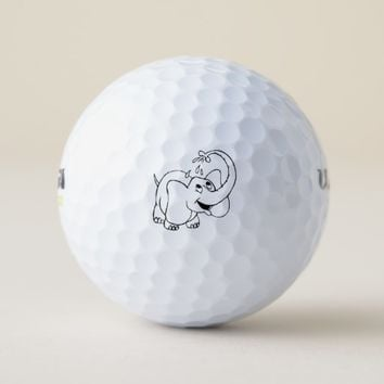 White Elephant Golf Balls