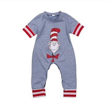Baby Rompers Newborn Infant Baby Boy Girl Clothes Novelty Romper Short Sleeve Jumpsuit Outfits Summer Baby Clothes