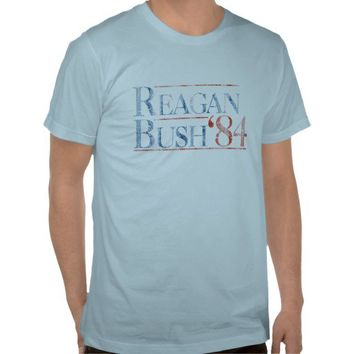 Reagan Bush '84 T Shirt from Zazzle.com