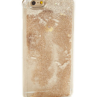 Neutral Floating Glitter Liquid Case for iPhone