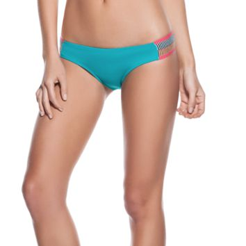OndadeMar Blue Every Day in Colors Banded Tanga Bottom