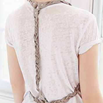 Braided Suede Harness