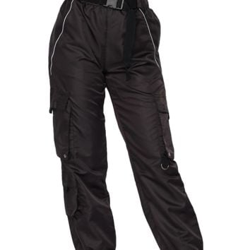 Totally Tubular Belted Cargo Joggers