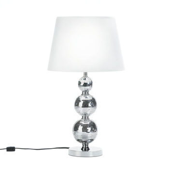 Modern Table Lamps, Silver Glass Contemporary Modern Office Desk Lamp Bedroom