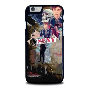 evan peters college iphone 6 6s case cover  number 1