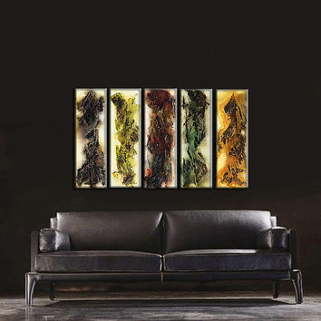 Original Painting Modern Textured Abstract Painting Contemporary painting on Canvas by Henry Parsinia 40x24