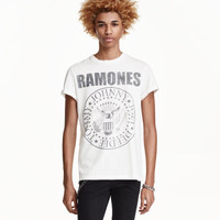 H&M Printed T-shirt $17.99