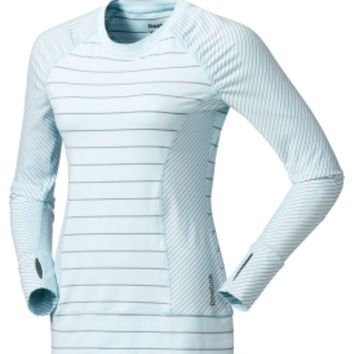 Reebok Women's Striped Brushed Long Sleeve Shirt | DICK'S Sporting Goods