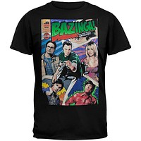 Big Bang Theory - Comic Book Cover T-Shirt
