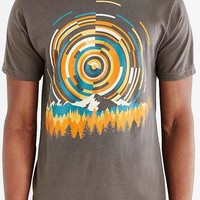 Geometry Of Sunrise Tee- Charcoal