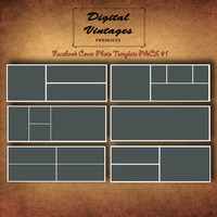 Facebook Timeline Cover Photo Photoshop Template Pack, Photographers, Storyboard PACK #1