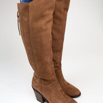 Pembe Toffee Tall Boots - Lucky Brand