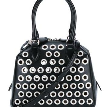 AZZEDINE ALAÏA | Mini Bowling Trapeze Leather Bag | Womenswear | Browns Fashion